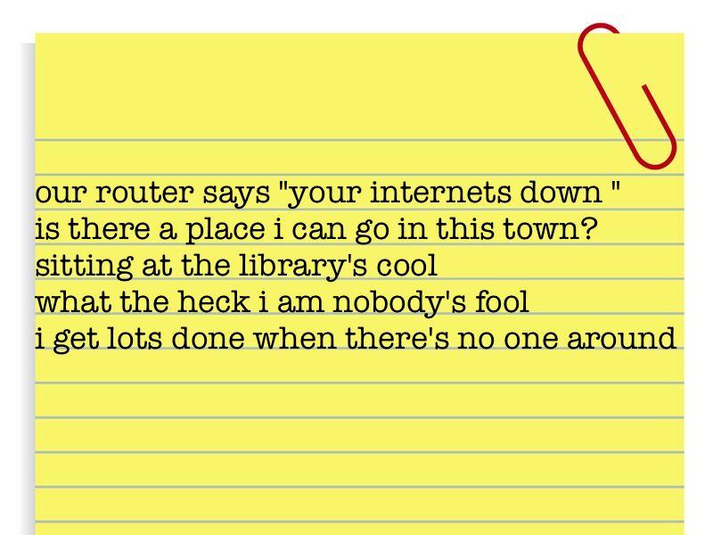 no internet1