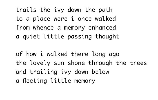 ivy path