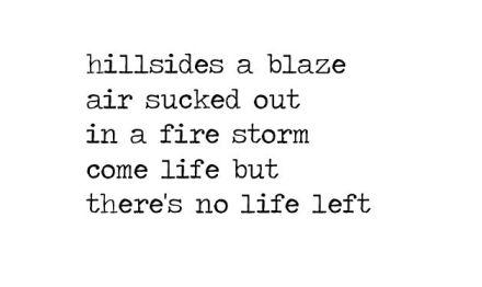 a blaze